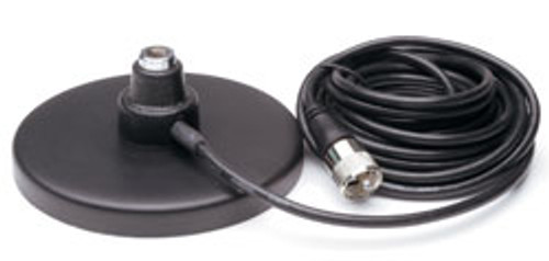 """Magnet Mount 3/8"""" x 24 Antenna Base with Coax Cable"""