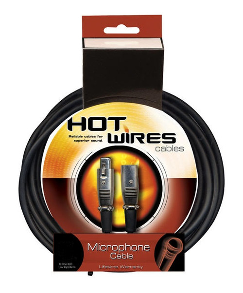 On Stage Hot Wires HW MC12-6 Mic Cable