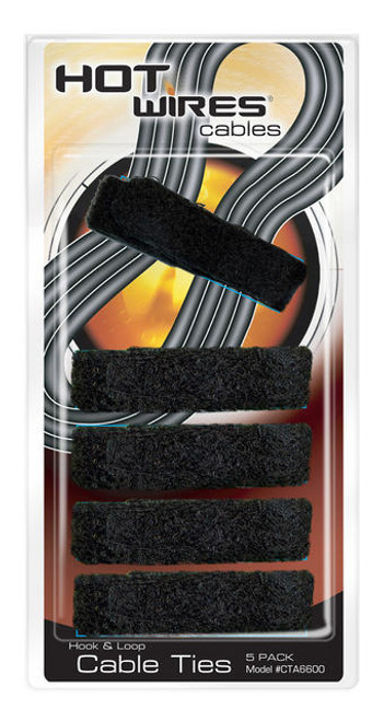 Hot Wires CTA6600 Velcro Cable Ties - 5 Pack