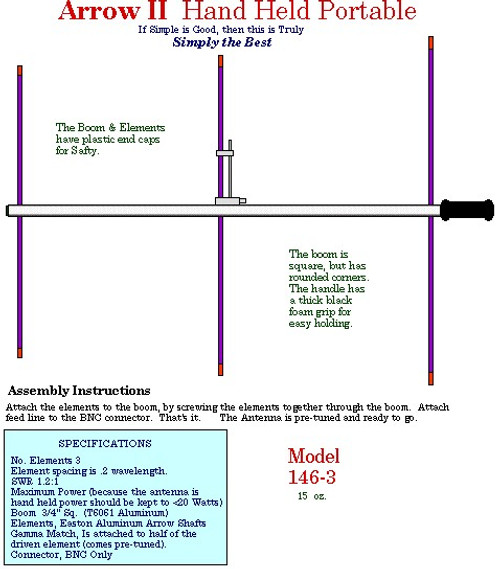 Arrow Antenna 146-3