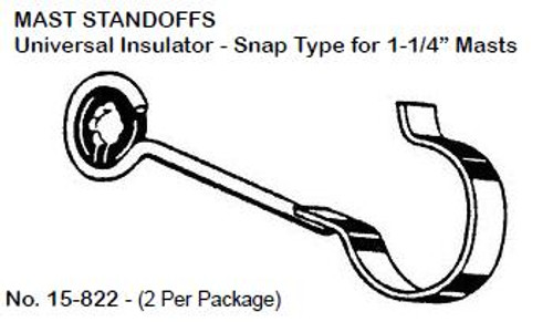 Snap-On Standoff  - Package of 2