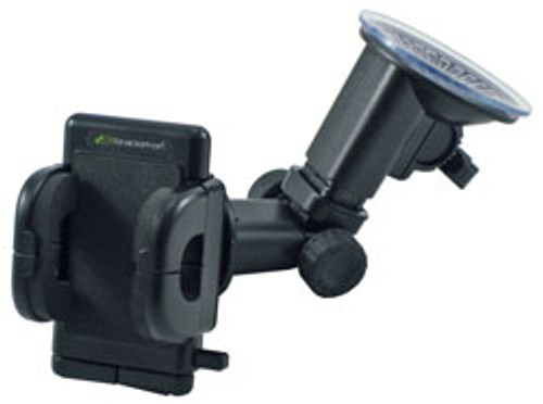 "Bracketron GPS Pro Heavy Duty Windshield Mount and Holder - Adjusts Up to 4.5"""