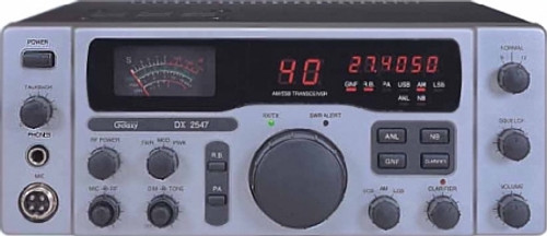 Galaxy DX-2547 AM/SSB CB Base Station w/ Freq Counter, Talkback & Roger Beep