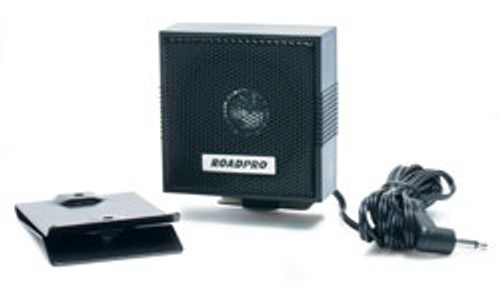 """RoadPro 2-1/2"""" Visor Mount CB Extension Speaker"""
