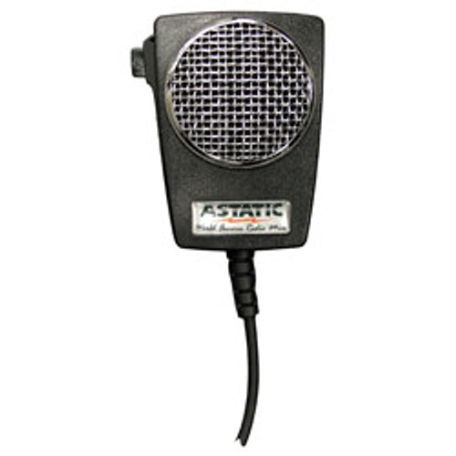 Astatic - D104M6B Amplified Ceramic Power 4-Pin CB Microphone