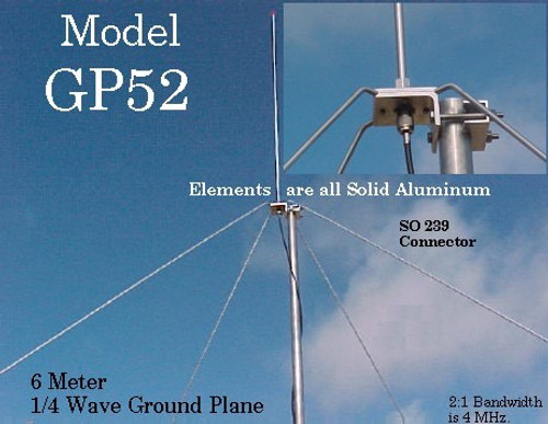 Arrow Antenna GP-52 6 Meter Ground Plane