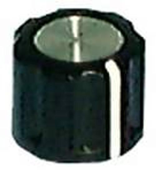 Knob - Fluted Grip Knob Indicator Line on Side