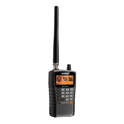 Uniden BC125AT - 500 Alpha Tagged Channel Handheld Scanner