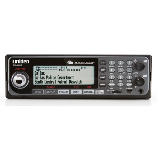 Uniden New BCD536HP Digital Mobile Scanner with WiFi - FREE SHIPPING (US)