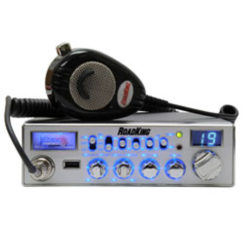 RoadKing - 40 Channel CB Radio with USB Port and RK56NC Mic