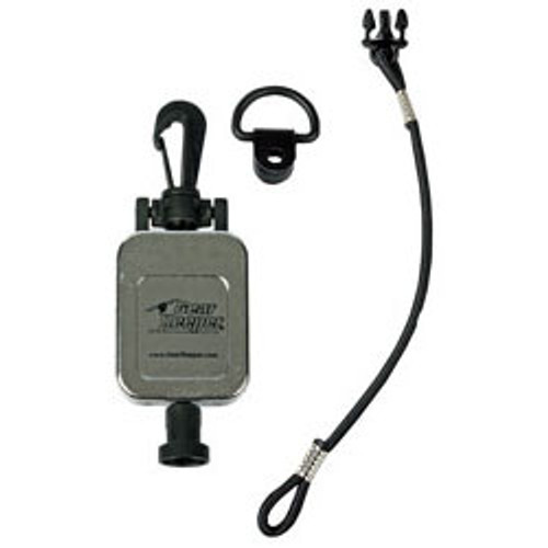 GearKeeper(R) Standard Retractable  MicKeeper(R) w/Snap Clip - Chrome Finish