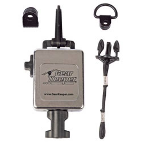GearKeeper(R) HD Retractable MicKeeper(R) with HD Snap Clip - Chrome Finish