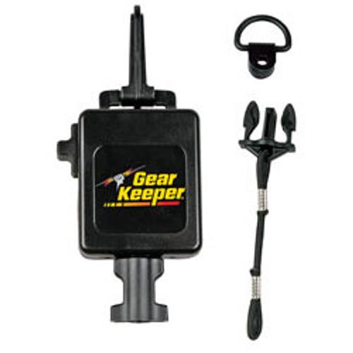 HammerHead Industries - GearKeeper(R) Heavy Duty Retractable CB Mic Holder with Heavy Duty Snap Clip - Black Finish