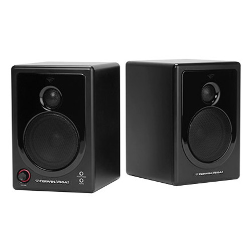 CER1210 - Cerwin Vega XD-3 2 Way Powered Desktop Speakers