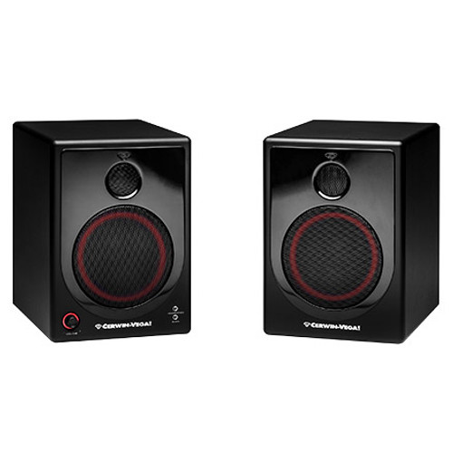 CER1212 - Cerwin Vega XD-5 2 Way Powered Desktop Speakers