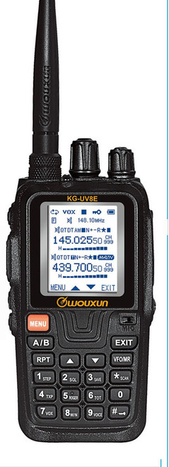 Wouxun KG-UV8E Tri-Bander - IN STOCK - Call/E-mail for Discount Coupon Code