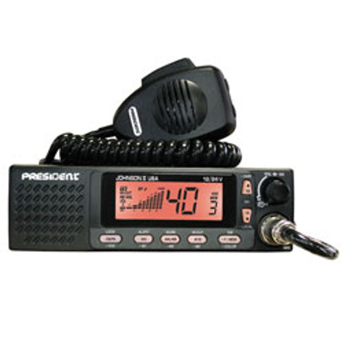President Johnson II CB Radio -  $35 FACTORY REBATE