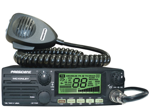 President MC KINLEY USA AM/SSB CB Radio