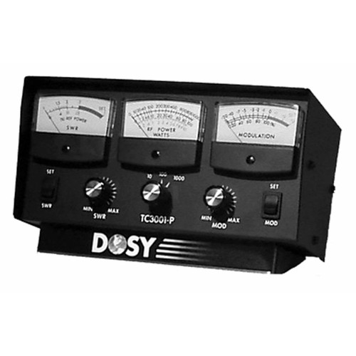 Dosy TC-3001-P TEST SET FOR 10/100/1000 WATT,SWR,% MOD,3-METER