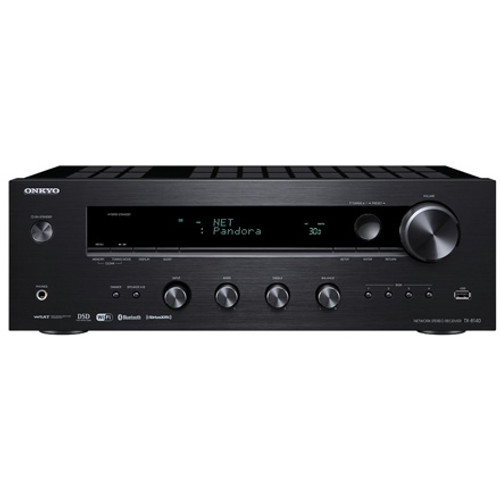 Onkyo TX-8140 Network Stereo Receiver with Wi-Fi and Blue Tooth