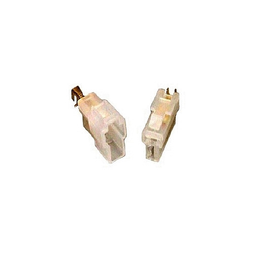 T-Type Replacement Power Cord Plug for VHF/UHF Radios - Pair