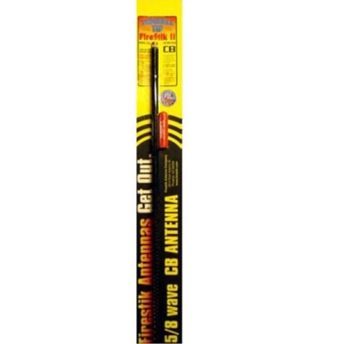 2 Foot Firestik II FS Series Tunable Tip CB Antenna - Black