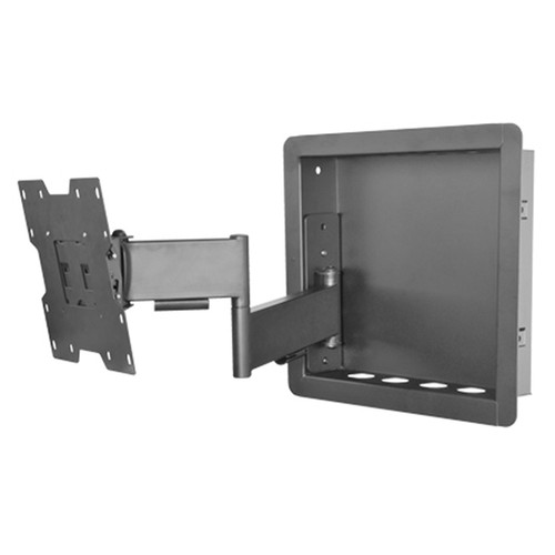 """Royal Mounts™ In-Wall Articulating Mount for Small 23""""-40"""" Displays (Black)"""
