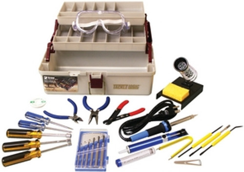 Elenco Deluxe 25 pc. Electronic Technician Tool Kit