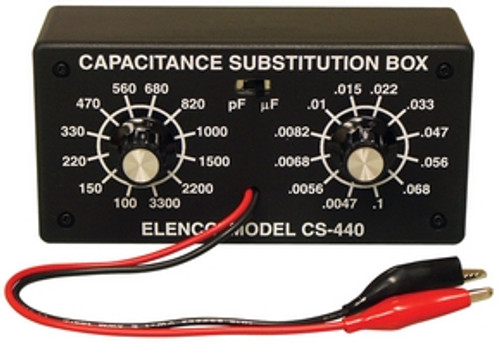Elenco Capacitor Substitution Box