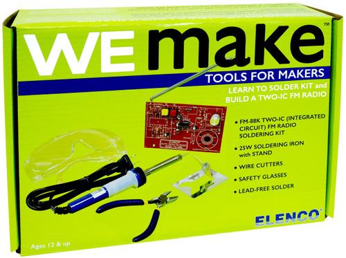 Elenco FM Radio Soldering Kit with Tools