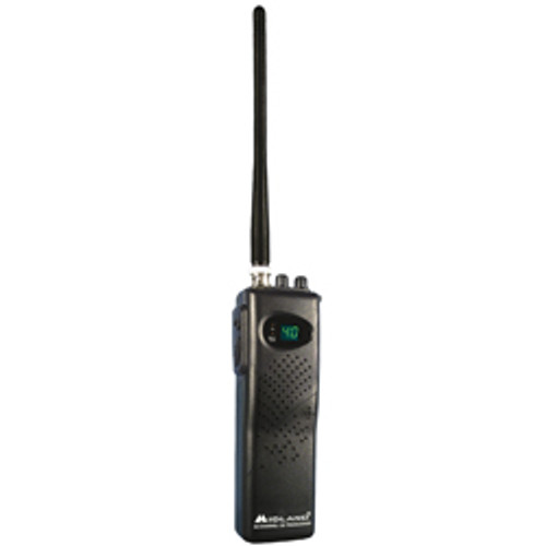 Midland - 40 Channel Portable Hand-Held CB Radio/Transceiver - 7 Watts