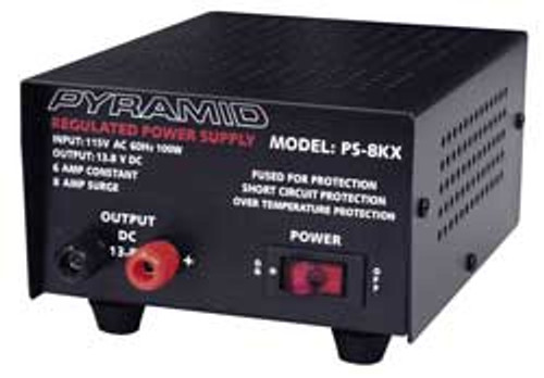 Pyramid - 6 Amp Power Supply
