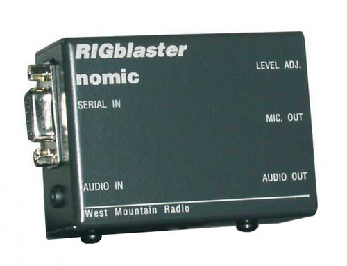 West Mountain Radio RIGblaster NOMIC