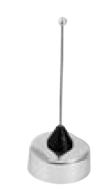 Larsen NMOQW144 2 Meter 1/4 Wave Antenna- Chrome