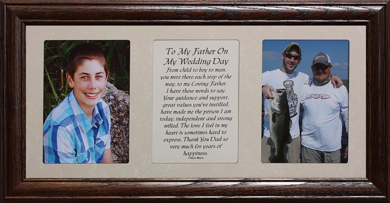 7x15 To My Father On My Wedding Day from a SON Poetry Double ...