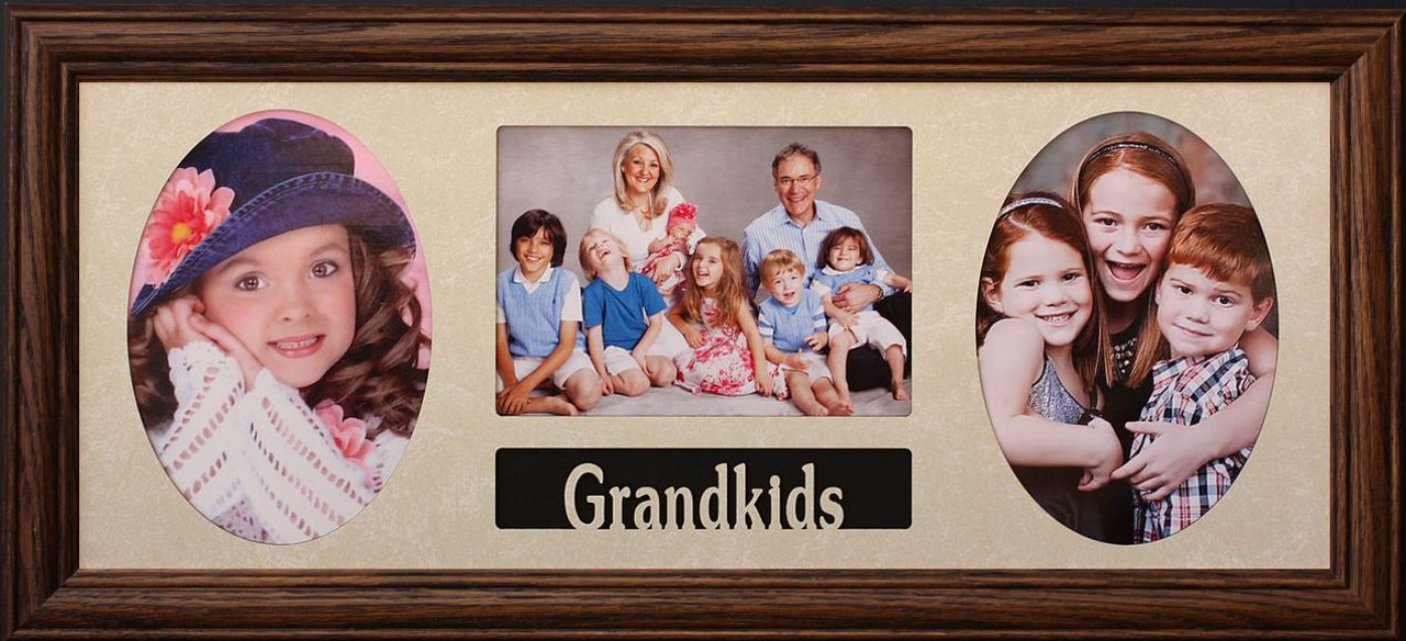 8x20 COLLAGE FRAME - GRANDKIDS ~ Holds 3-5\'\'x7\'\' Pictures/Photos ...