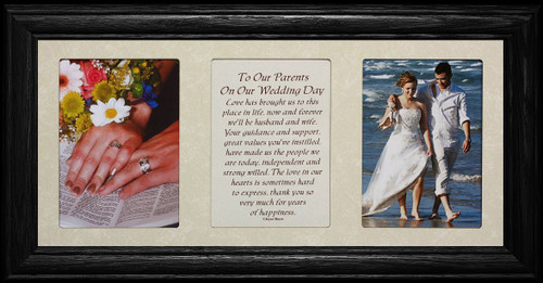 7x15 TO OUR PARENTS ON OUR WEDDING DAY Poetry & Photo LIGHT/MEDIUM ...