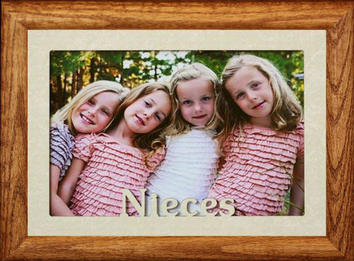 5x7 JUMBO ~ NIECES & NEPHEW Portrait Picture Frame For a Favorite ...