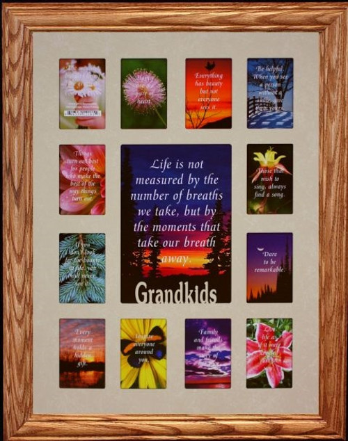 12x16 GRANDKIDS Picture Collage Frame ~ Wonderful Gift for Grandma ...