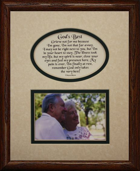 8x10 GOD\'S BEST Picture & Poetry Photo Gift Frame ~ Cream/Burgundy ...