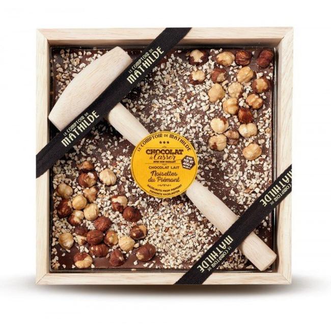 Le Comptoir de Mathilde-Milk Chocolate Hazelnut