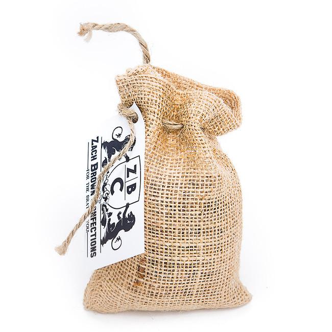 Honey Roasted Peanuts in Burlap Bag