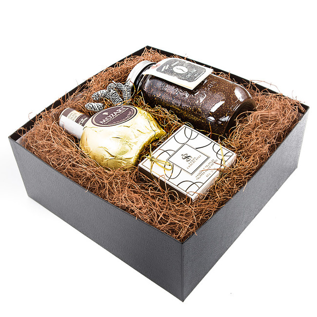 Coffee and Liqueur Gift Basket
