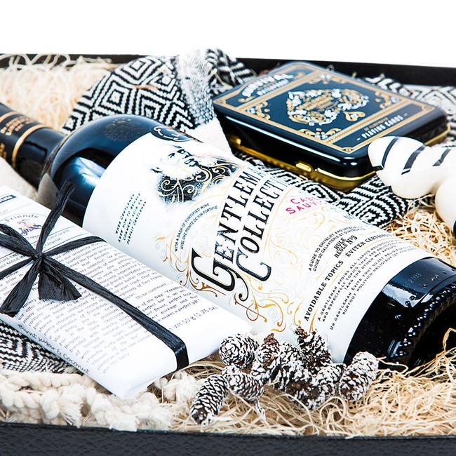 Wine Lover Gift for Him Manbox