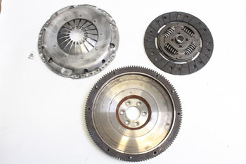 Used Darkside SILENT Single Mass Cast Flywheel & Clutch Kit for 5 Speed 02J-B & 6 Speed 02S (Mk5 Platform) - Sachs Race  Pressure Plate