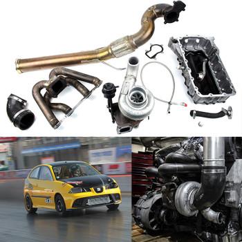 Used Custom Darkside Holset HX Turbo Kit for 1.9 8v TDI Engines (Ibiza, Polo, Fabia)