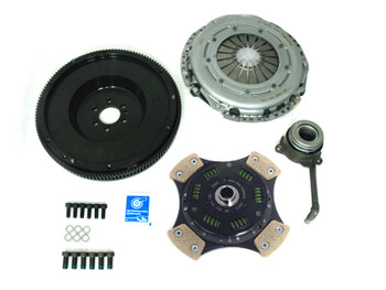 Sachs Race Single Mass Flywheel (SMF) & Sintered Clutch Kit for VW 02Q 6 Speed