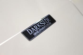 Darkside Developments Black / Silver Foil Stickers
