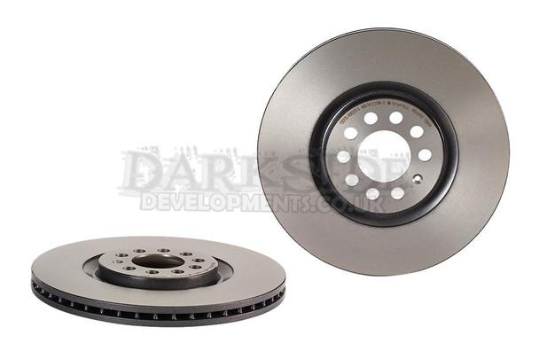 Brembo 312mm Front Brake Discs for Audi S3 / VW R32 / TT & Porsche 986 4 Pot Front Caliper Conversion