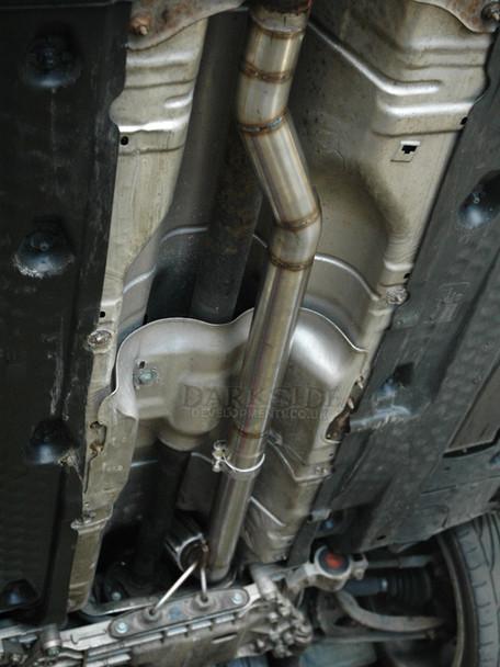 """2.5"""" Stainless De-Cat Downpipe for 2.0 TDi 16v BKD / BKP 4-Motion / Quattro"""